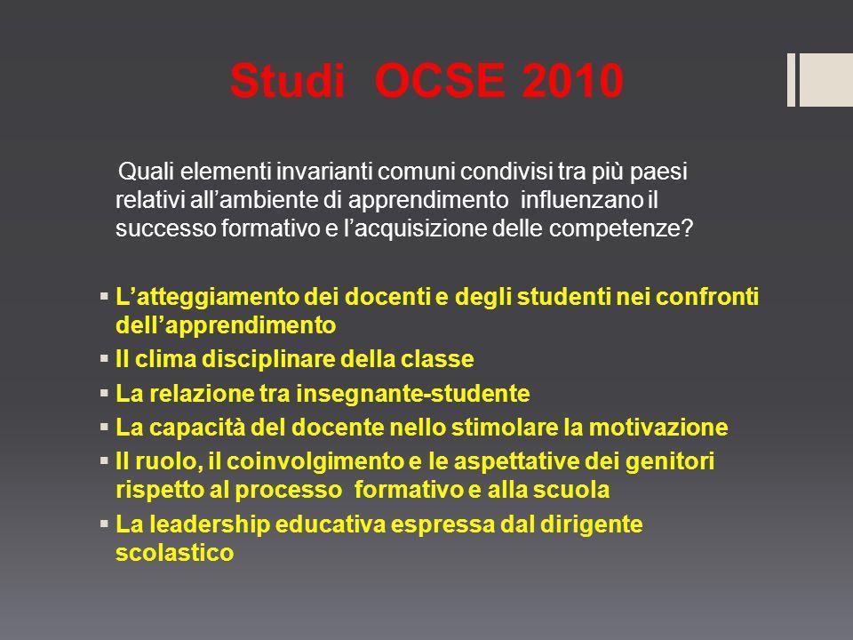 Studi OCSE 2010