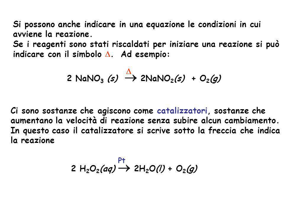 2 NaNO3 (s)  2NaNO2(s) + O2(g) D