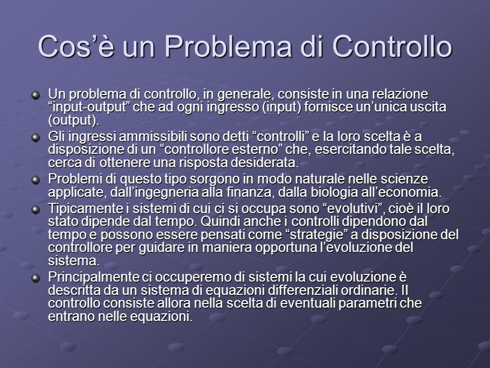 Cos'è un Problema di Controllo