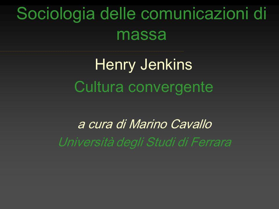 Sociologia delle comunicazioni di massa