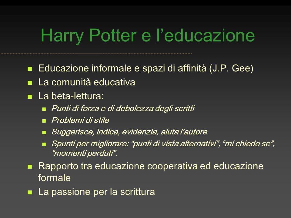 Harry Potter e l'educazione