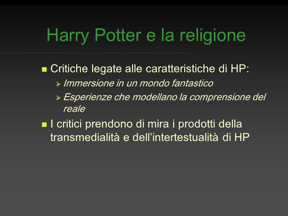 Harry Potter e la religione