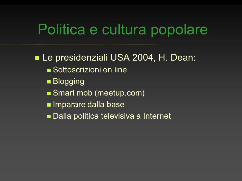 Politica e cultura popolare