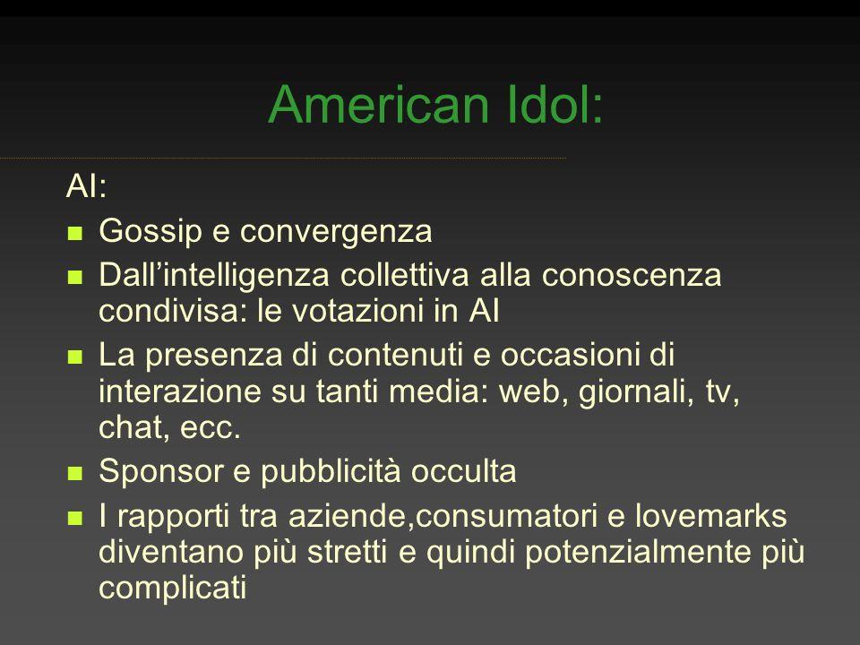 American Idol: AI: Gossip e convergenza