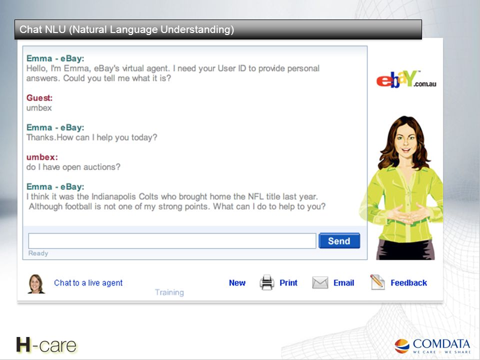 Chat NLU (Natural Language Understanding)