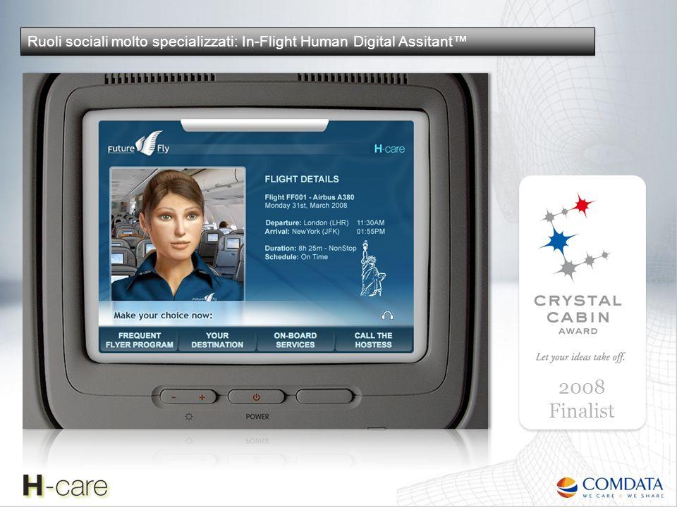 Ruoli sociali molto specializzati: In-Flight Human Digital Assitant™