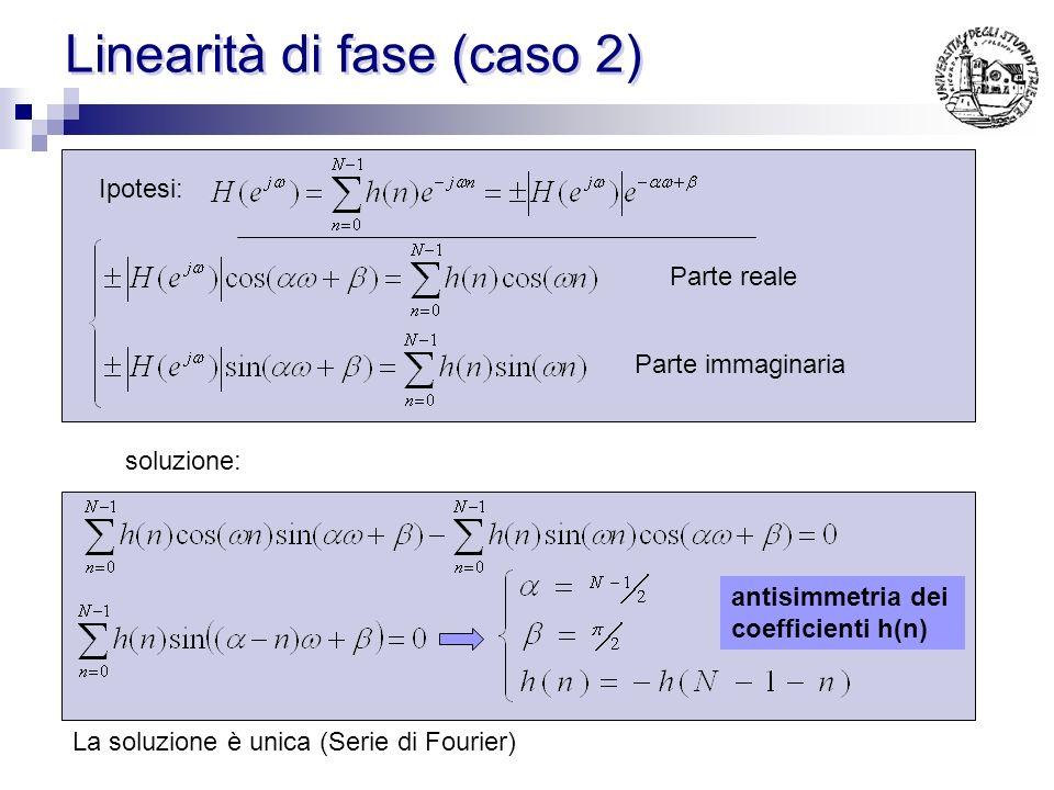 Linearità di fase (caso 2)