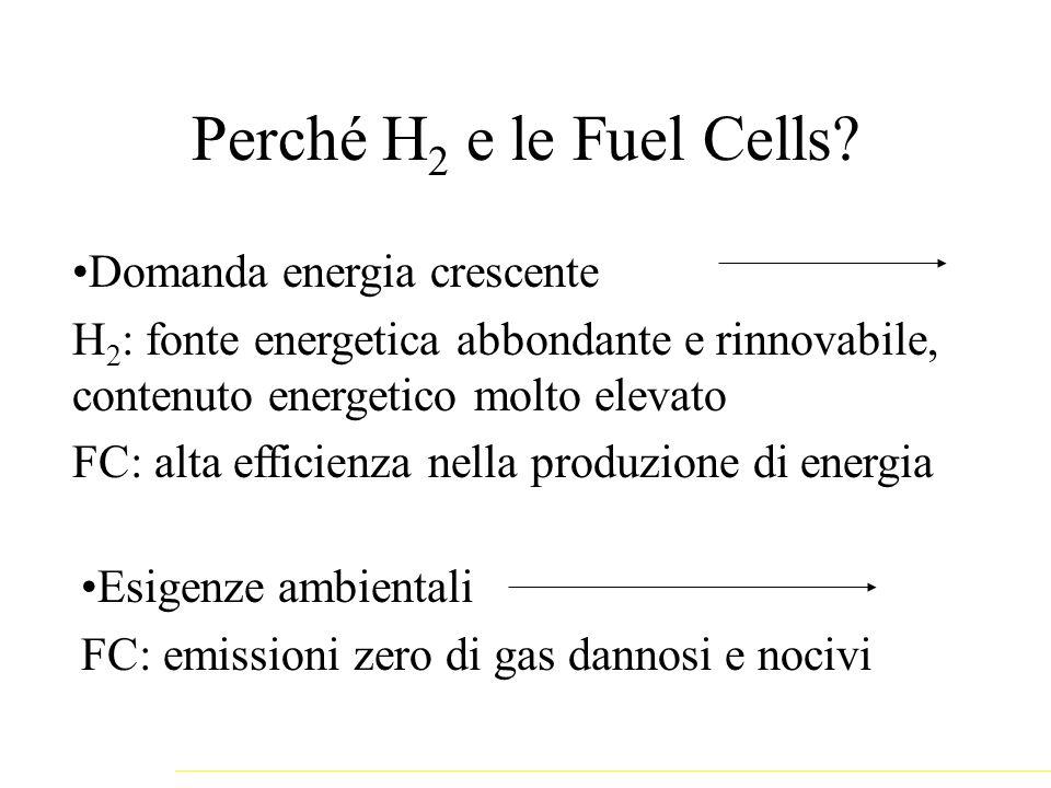 Perché H2 e le Fuel Cells Domanda energia crescente
