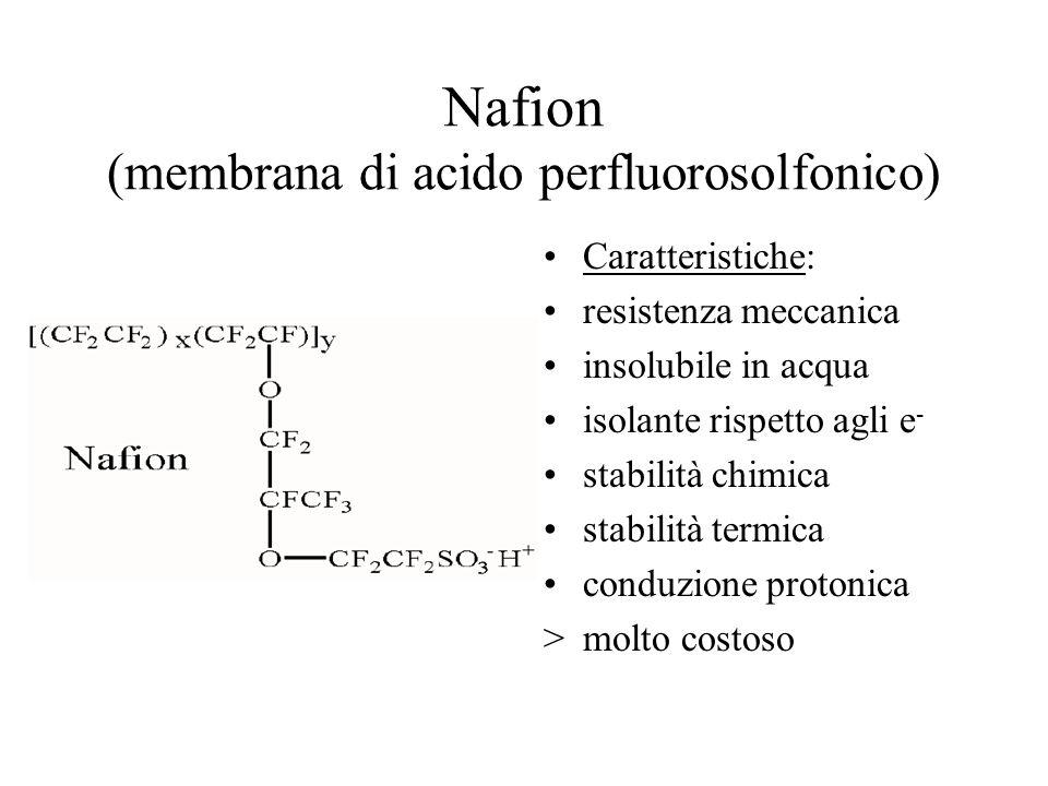Nafion (membrana di acido perfluorosolfonico)