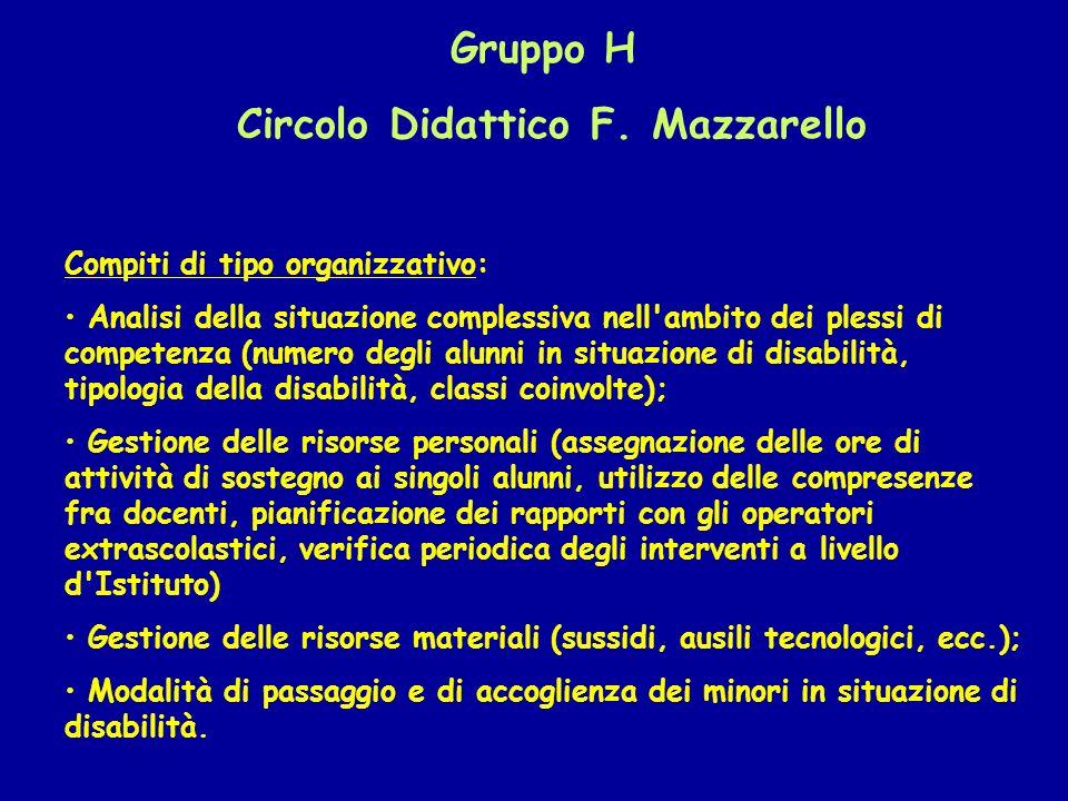 Circolo Didattico F. Mazzarello