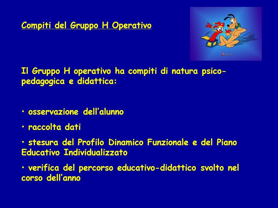 Compiti del Gruppo H Operativo
