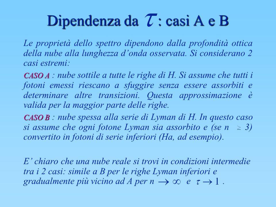 Dipendenza da : casi A e B
