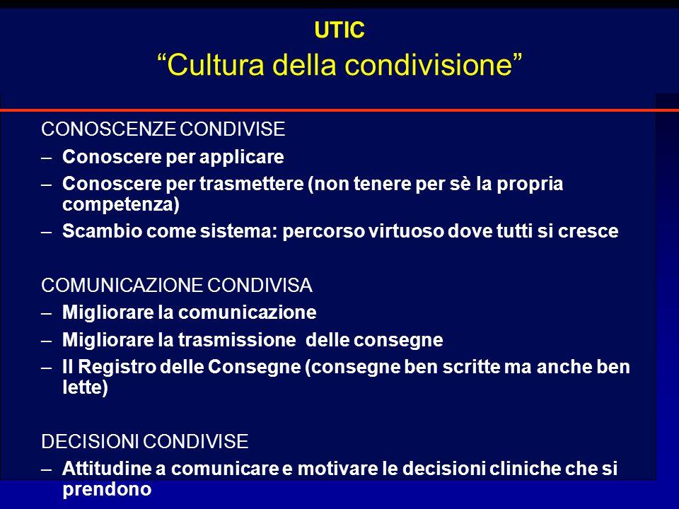 UTIC Cultura della condivisione