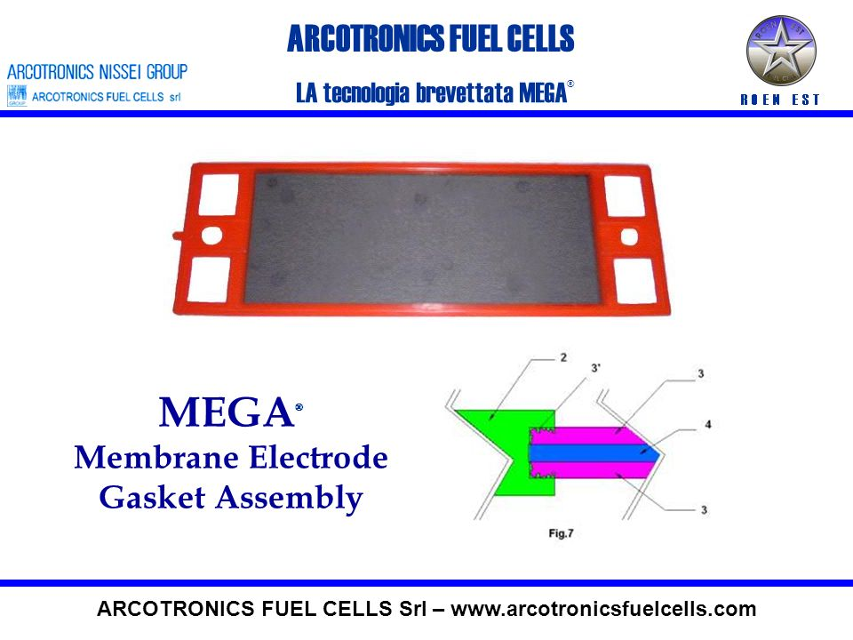 MEGA® ARCOTRONICS FUEL CELLS Membrane Electrode Gasket Assembly