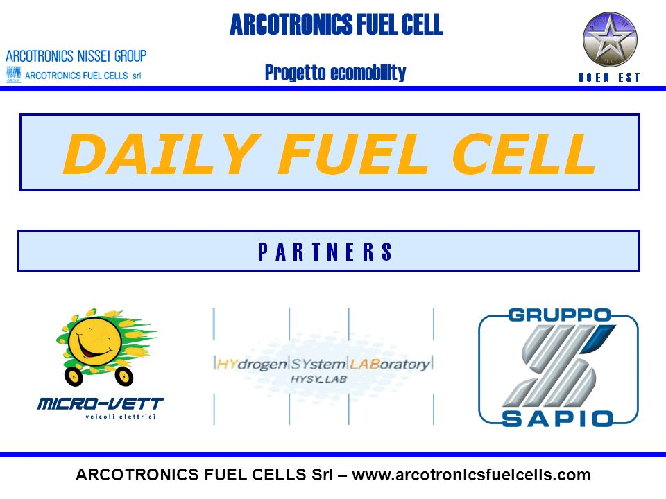 ARCOTRONICS FUEL CELLS Srl – www.arcotronicsfuelcells.com