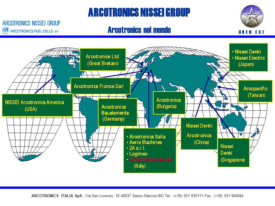 ARCOTRONICS NISSEI GROUP