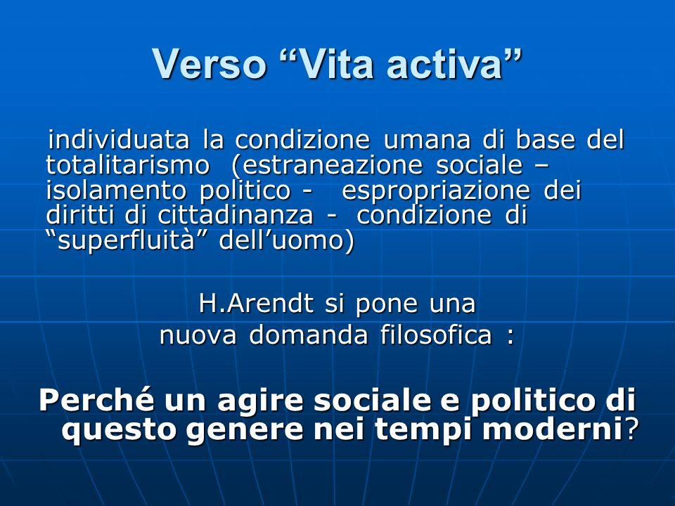 Verso Vita activa