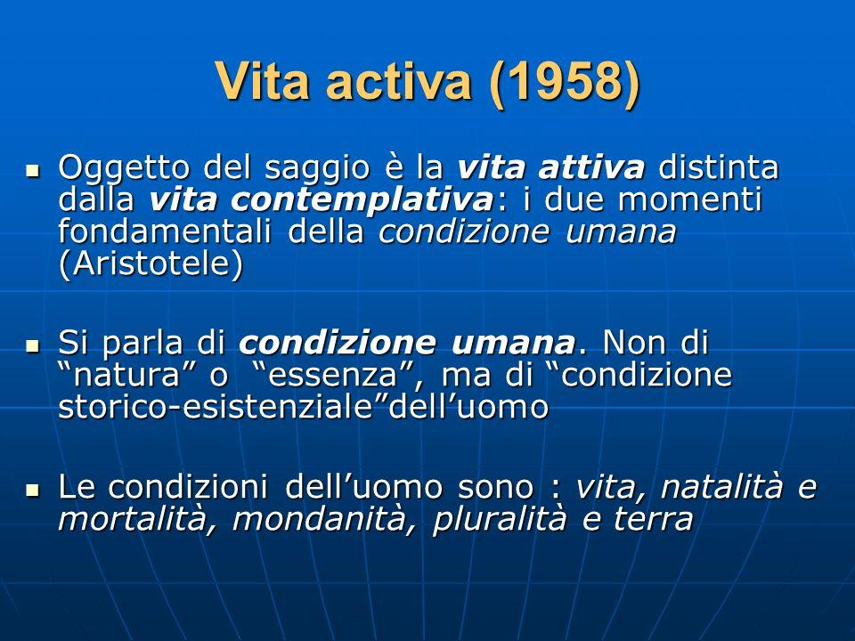 Vita activa (1958)