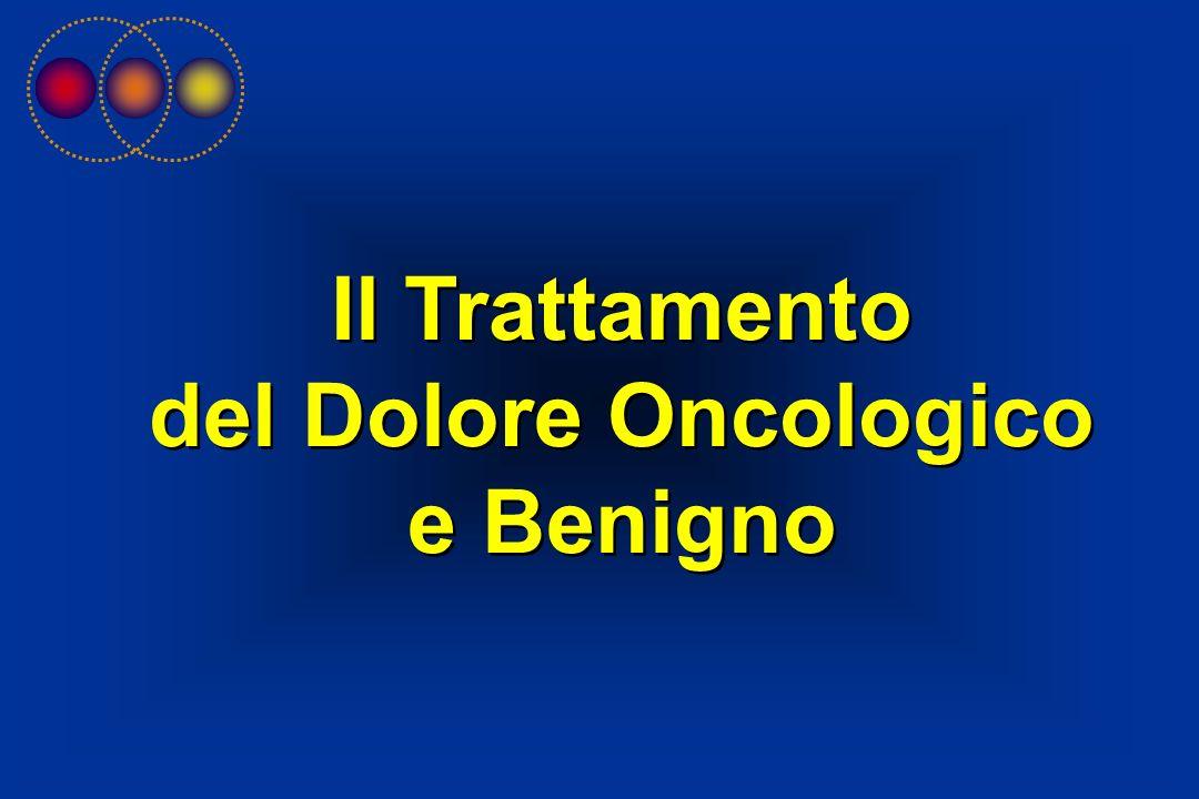 Il Trattamento del Dolore Oncologico e Benigno