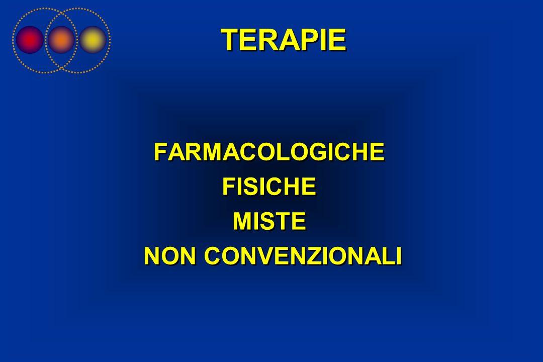 TERAPIE FARMACOLOGICHE FISICHE MISTE NON CONVENZIONALI