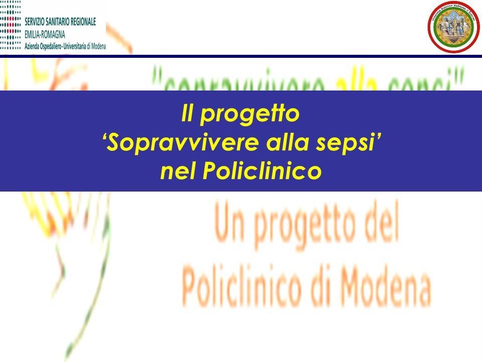 Il progetto 'Sopravvivere alla sepsi' nel Policlinico