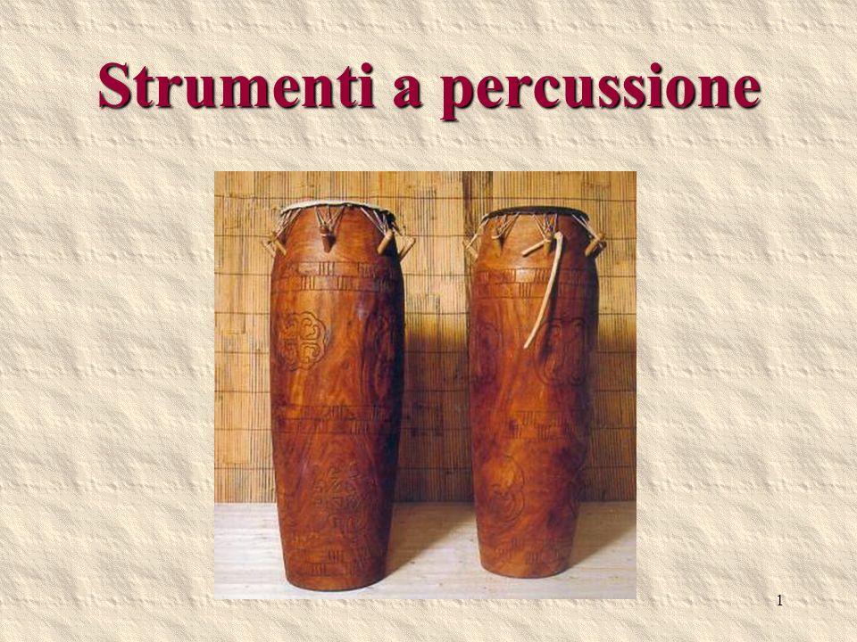 Strumenti a percussione
