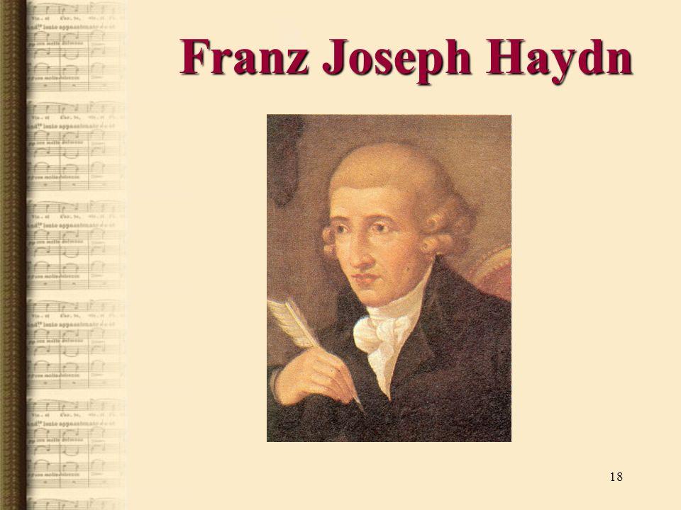 Franz Joseph Haydn