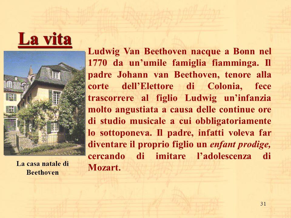 La casa natale di Beethoven