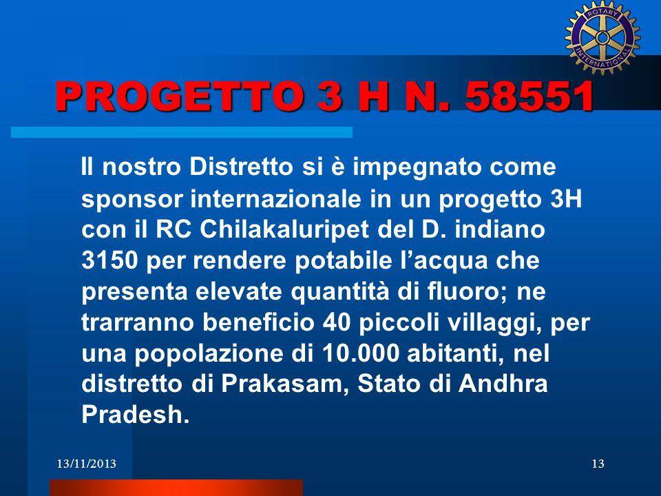 PROGETTO 3 H N. 58551