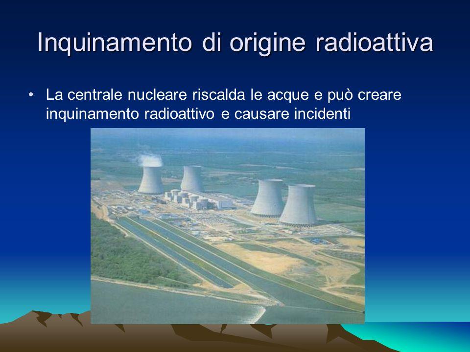 Inquinamento di origine radioattiva
