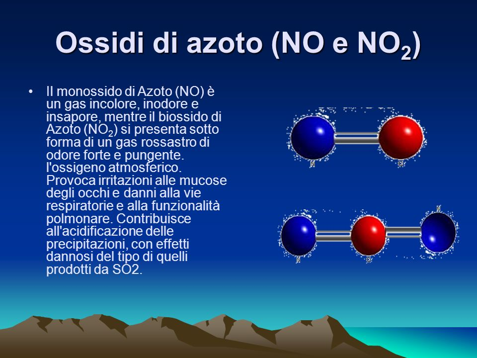 Ossidi di azoto (NO e NO2)