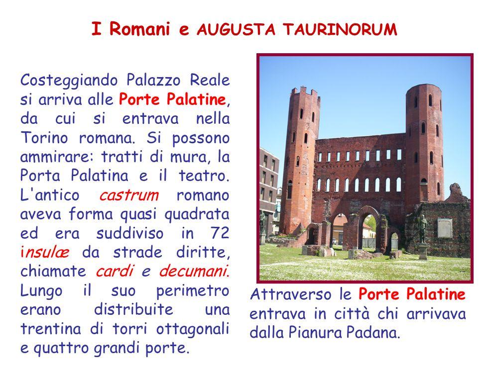 I Romani e AUGUSTA TAURINORUM