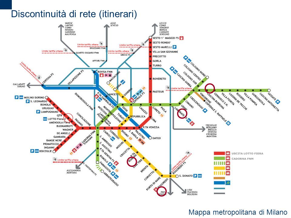 Discontinuità di rete (itinerari)