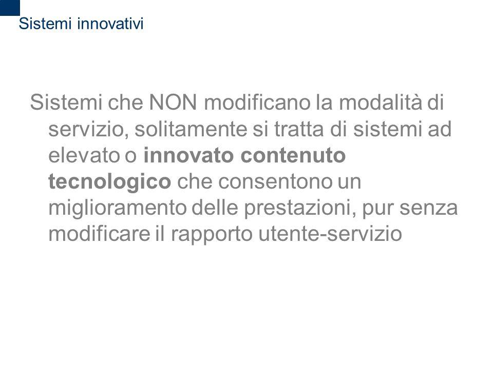 Sistemi innovativi