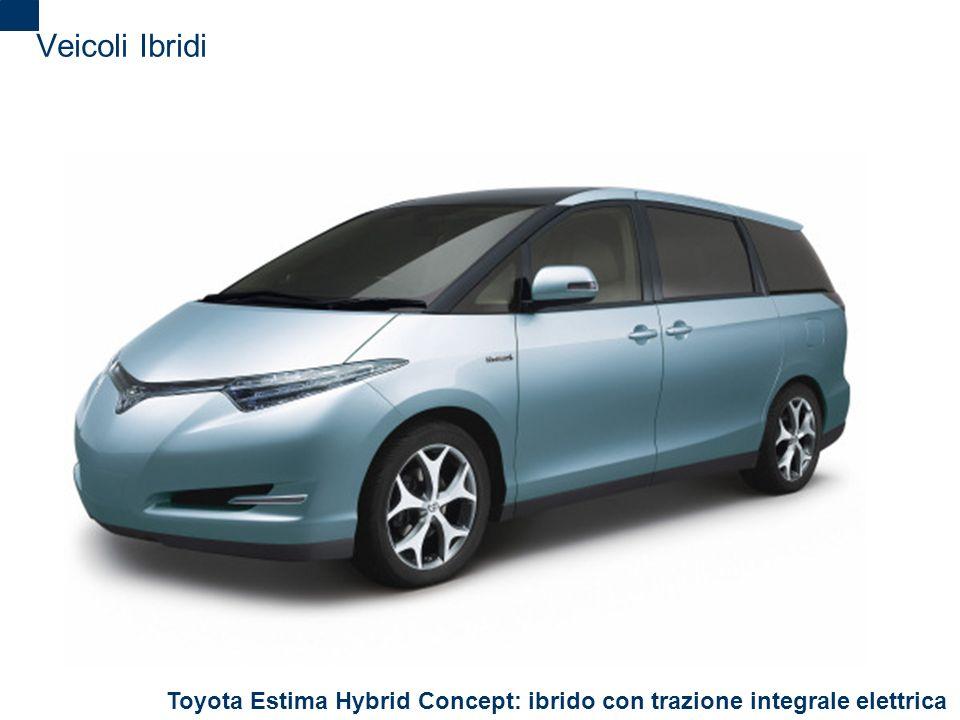 Veicoli Ibridi Toyota Estima Hybrid Concept: ibrido con trazione integrale elettrica