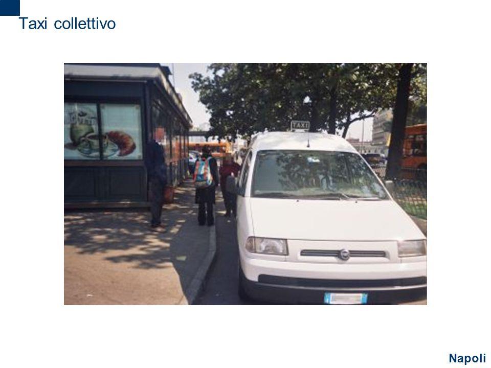 Taxi collettivo Napoli