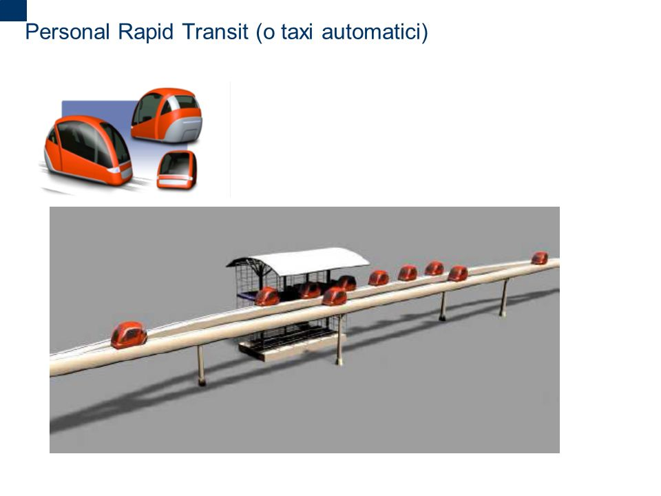 Personal Rapid Transit (o taxi automatici)