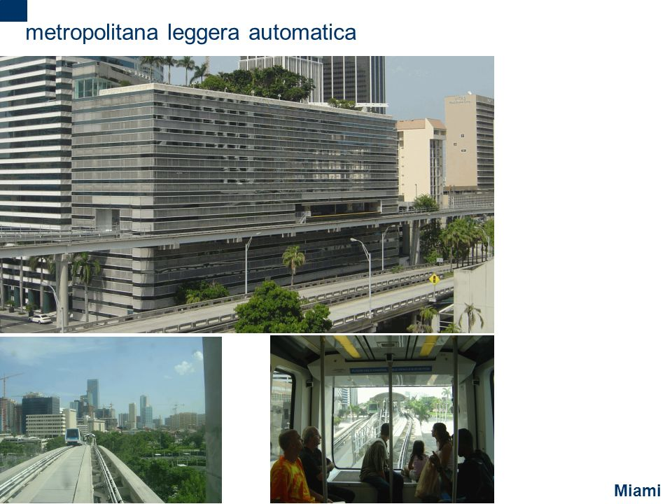 metropolitana leggera automatica