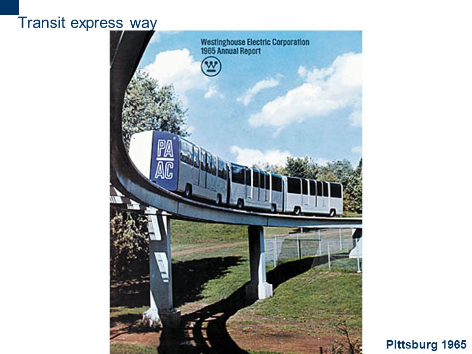Transit express way Pittsburg 1965