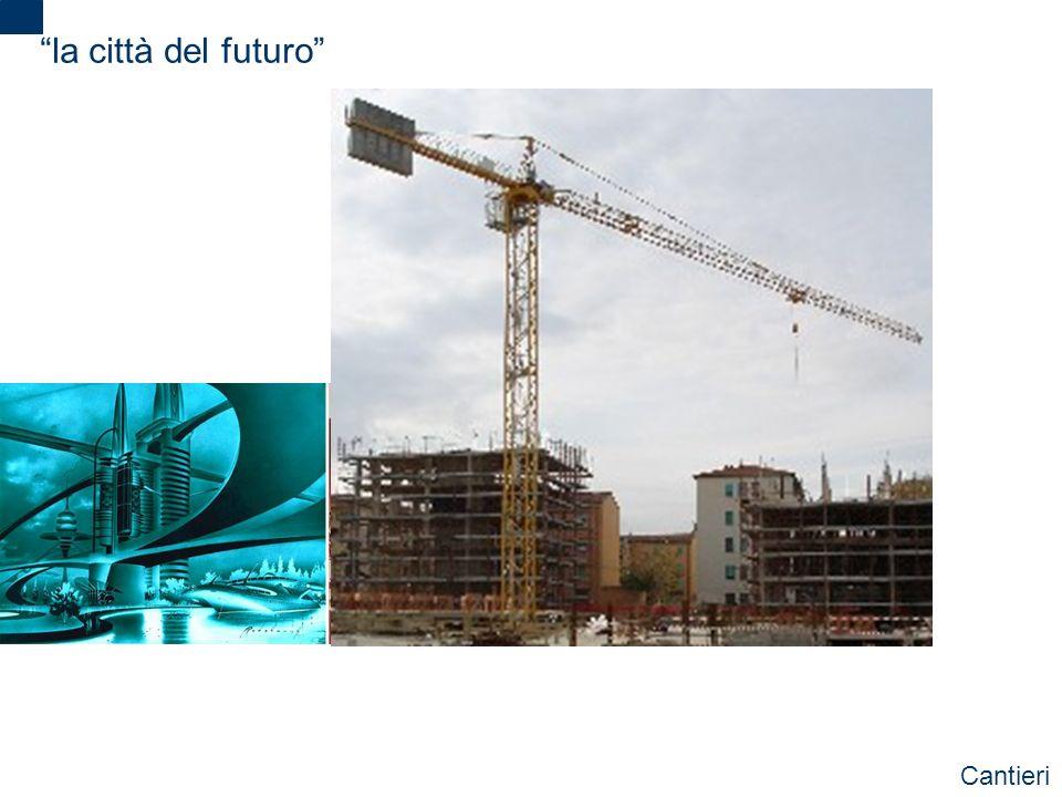 la città del futuro Cantieri