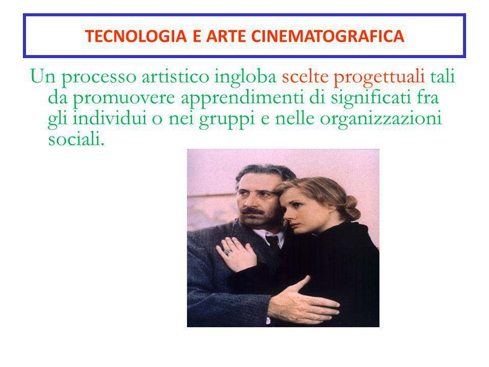 TECNOLOGIA E ARTE CINEMATOGRAFICA