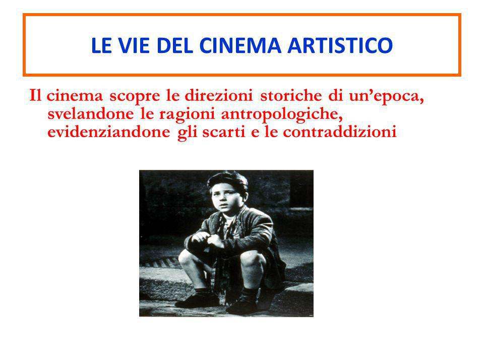 LE VIE DEL CINEMA ARTISTICO