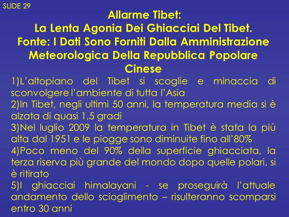 La Lenta Agonia Dei Ghiacciai Del Tibet.