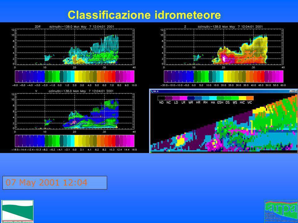 Classificazione idrometeore