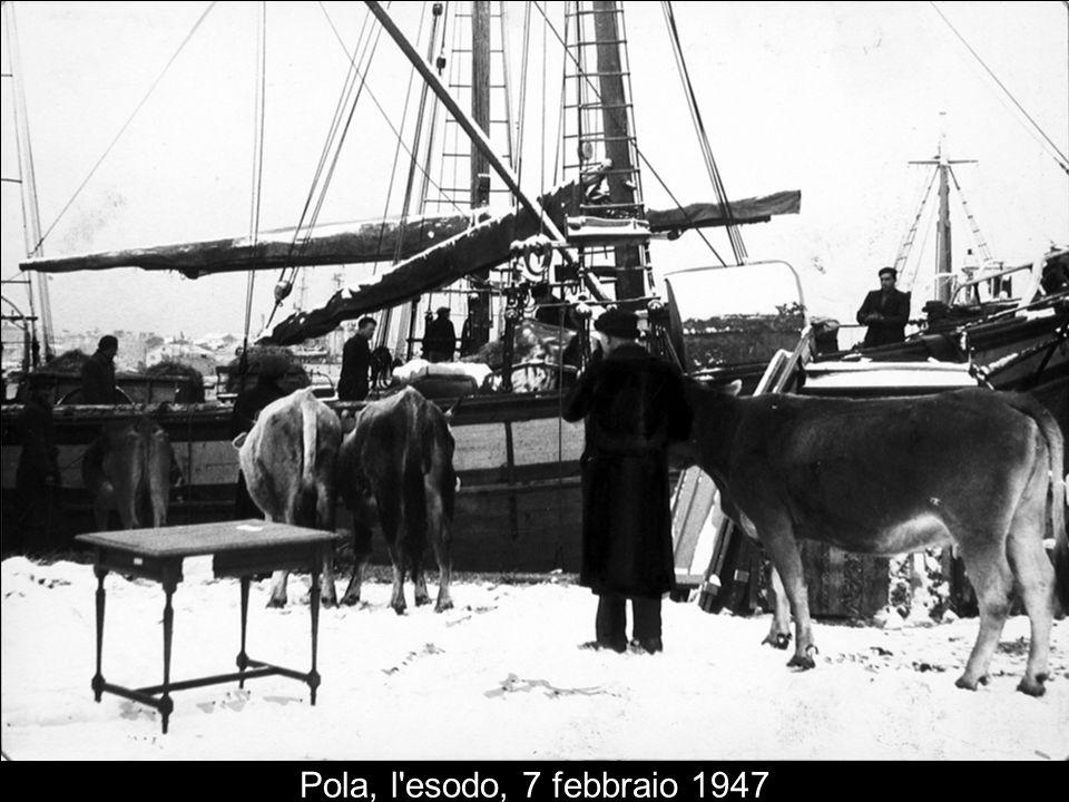Pola, l esodo, 7 febbraio 1947