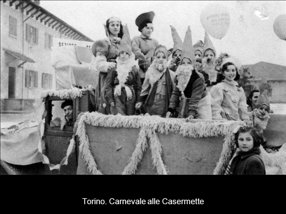 Torino. Carnevale alle Casermette