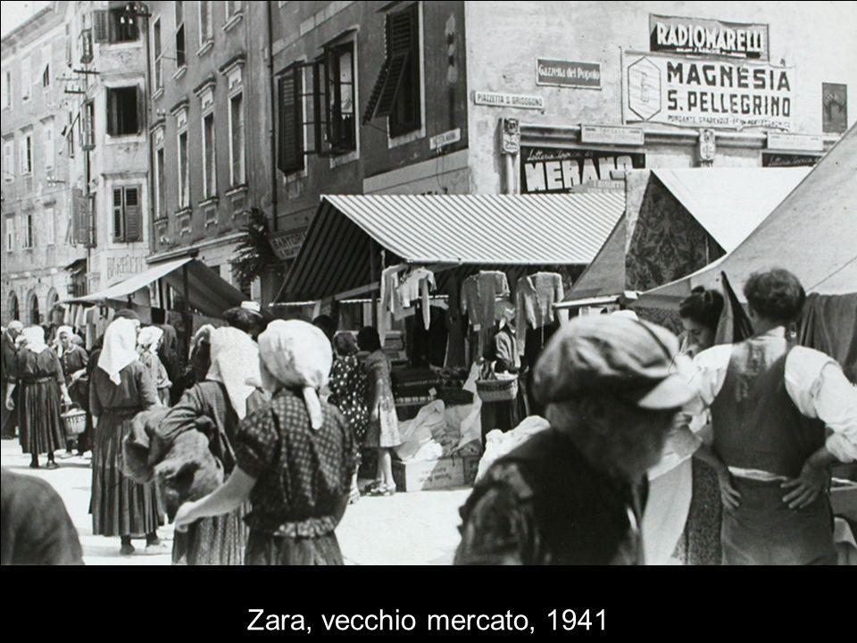 Zara, vecchio mercato, 1941