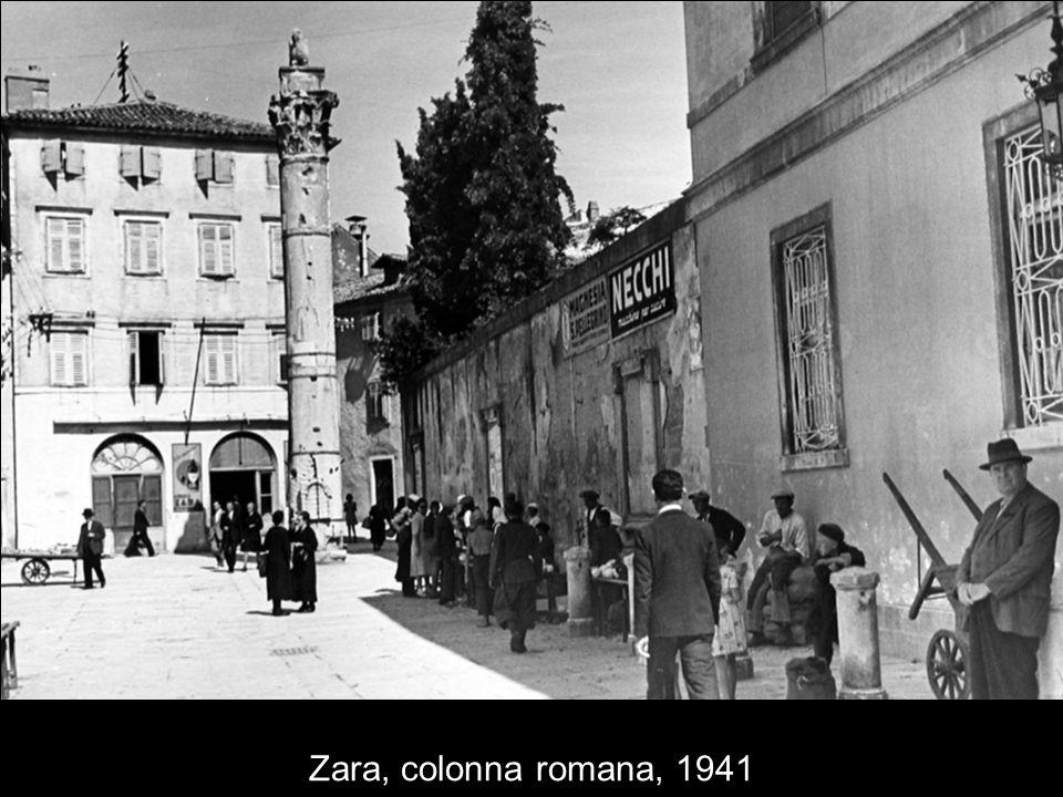 Zara, colonna romana, 1941
