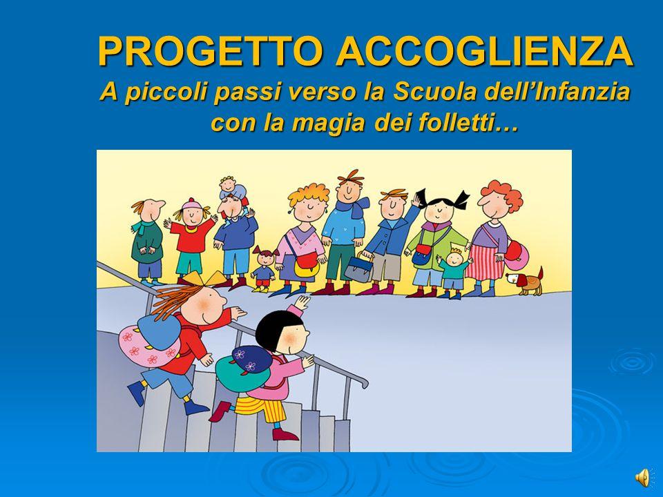 Progetto accoglienza scuola dell infanzia ppt video for Idee per l accoglienza nella scuola dell infanzia