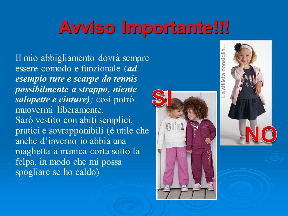 SI NO Avviso Importante!!!